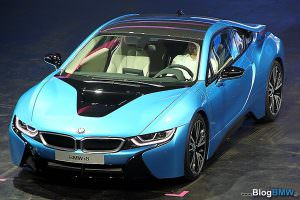 BMW i8 salon de francfort 3