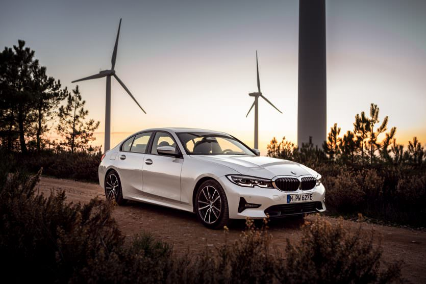 BMW 330e hybride rechargeable