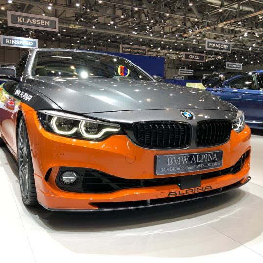 BMW Alpina B4S Edition 99 2019