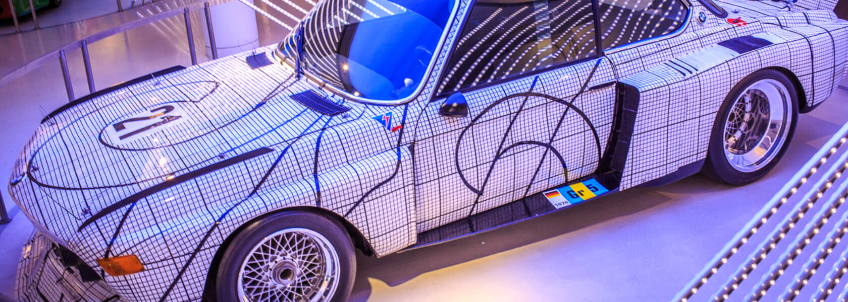 BMW 3.0 CSL Art Car 1976 Frank Stella