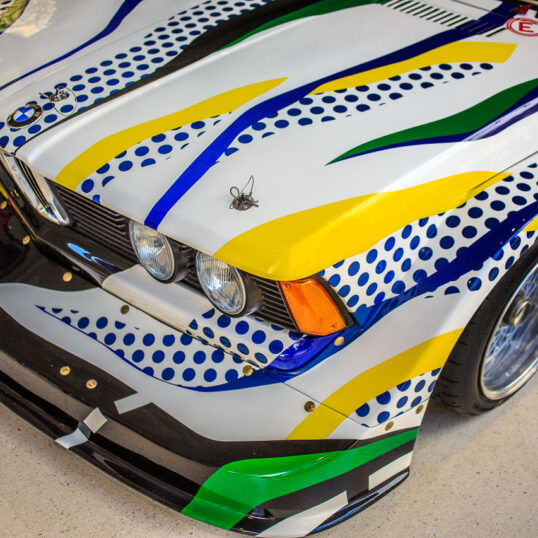 BMW 320i Art Car Roy Lichtenstein 1977