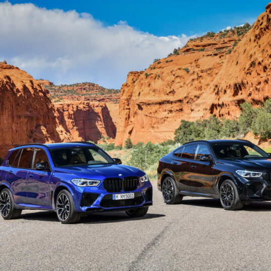 BMW X5 M Competition 2020 BMW X6 M Competition 2020