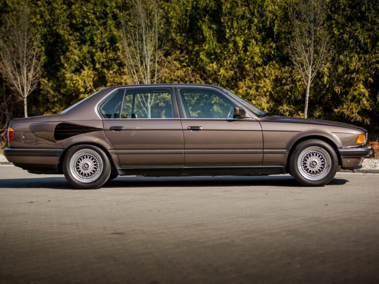 BMW 767iL Secret Seven GoldFisch