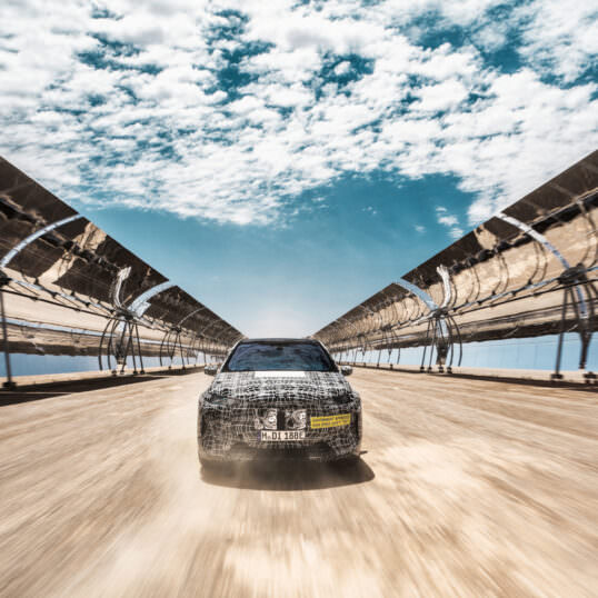 BMW iNEXT tests Afrique du Sud 2020