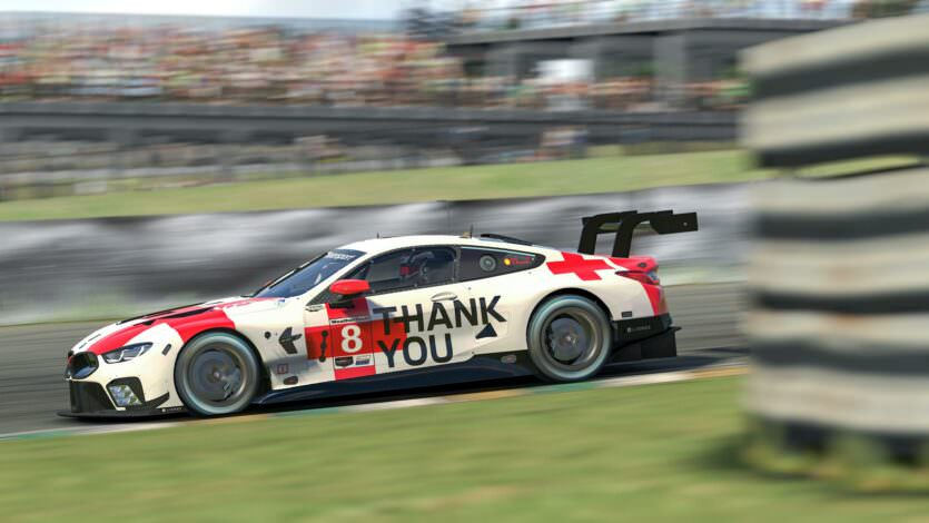 BMW M8 GTE iRacing Thank You 2020